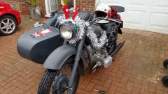 Decked for the Toy run